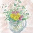ブログ (窓辺の花)